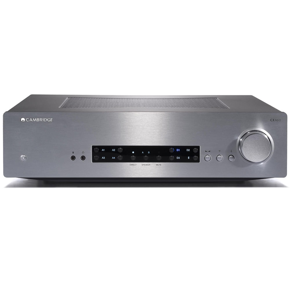 Cambridge-Audio-CXA60-Silver-Frente
