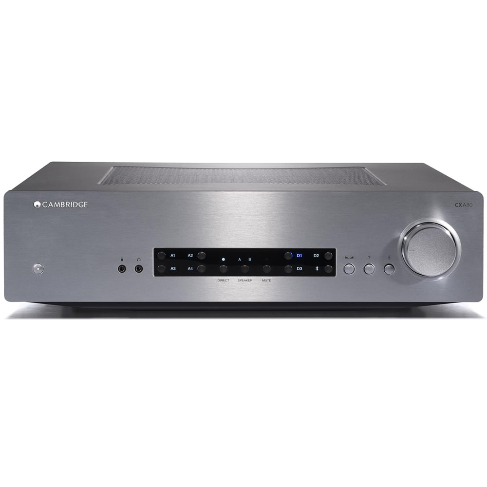 Cambridge-Audio-CXA80-Silver-Frente
