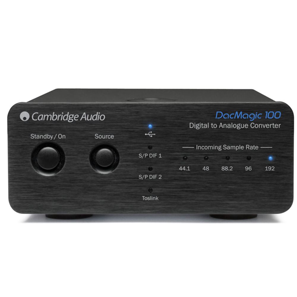 Cambridge-Audio-DacMagic-100-Black-frente