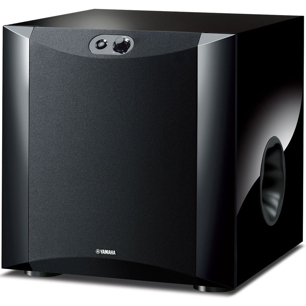 yamaha ns sw300 subwoofer ativo de 10 com 250w. Black Bedroom Furniture Sets. Home Design Ideas