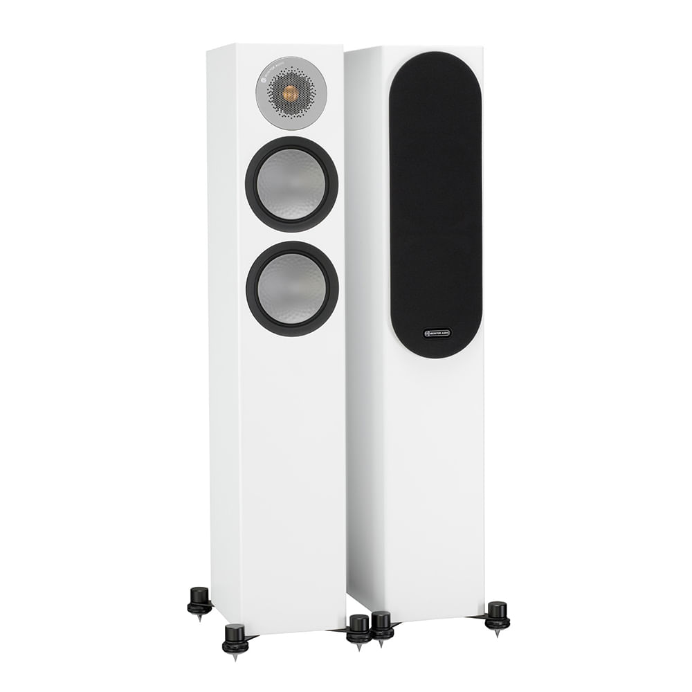 Monitor-Audio-Silver-200-White-Gloss-Principal