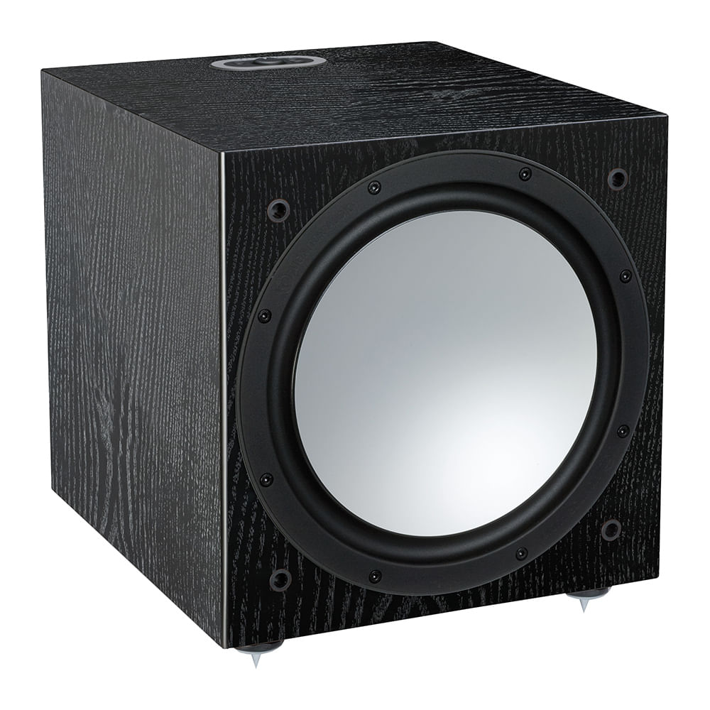 Monitor-Audio-Silver-W12-6G-Preto-Frente