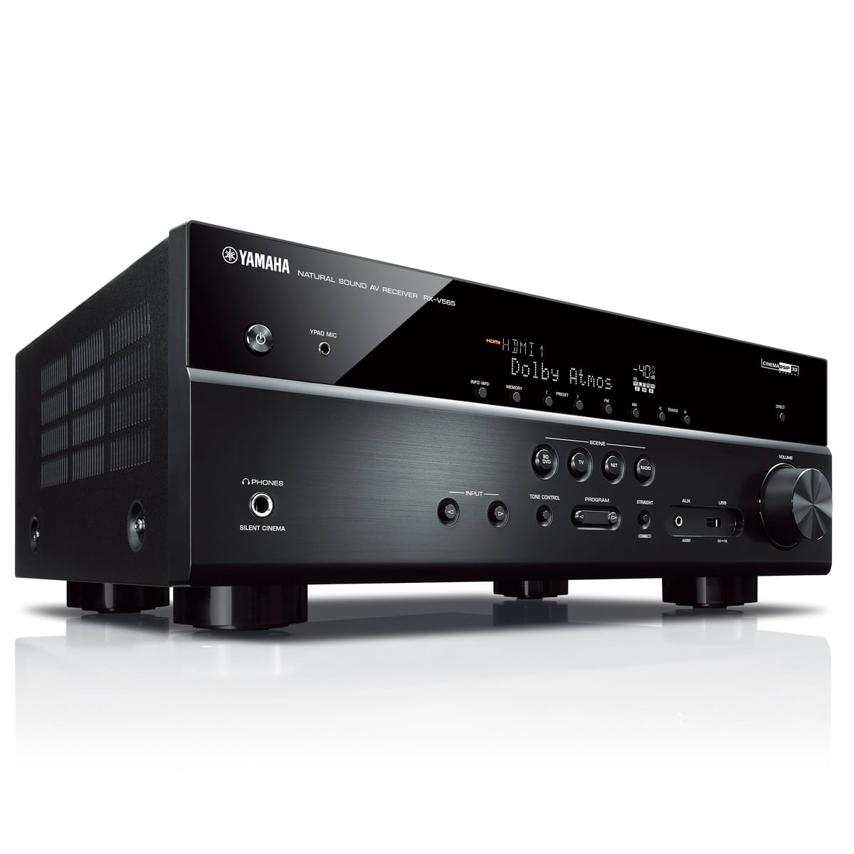 Receiver-Yamaha-RX-V585-7.2ch-Dolby-Atmos-Bluetooth-Wi-Fi-AirPlay-musicCast-4K-UHD-HDR10-Lateral-E